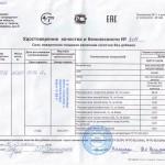 Удостоверение в.с. 1помол 1/50кг